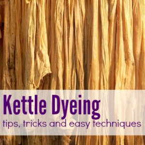 Kettle Dyeing Fabric or Yarn