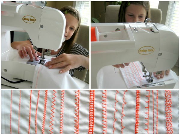 Learning to sew with children.  The Sewing Loft