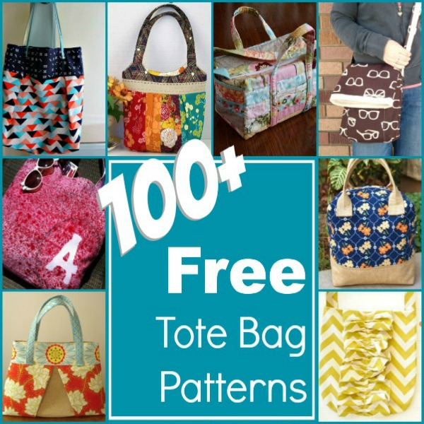 Free Patterns For Bags : 100+ Free Tote Bag Patterns - The Sewing Loft