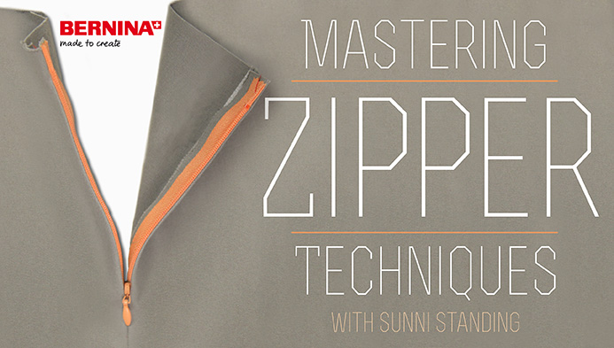 Learn how to master zipper techniques with this free class on Craftsy.