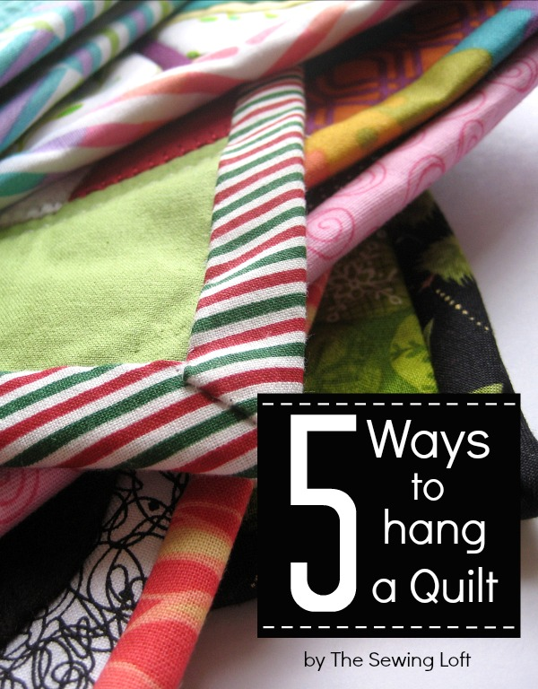 How To Hang Your Mini Quilt The Sewing Loft