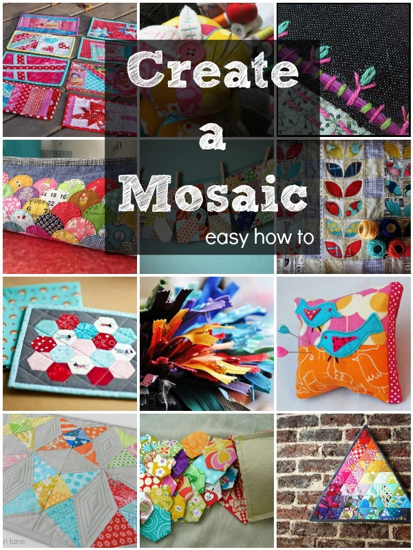 Learn how to make a mosaic table on Flickr with this easy tutorial.  Step by step photos will help walk you through the process.