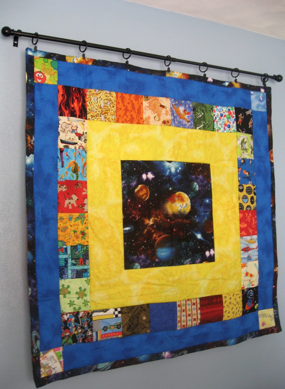 Hang Blanket On Wall how to hang your mini quilt - the sewing loft