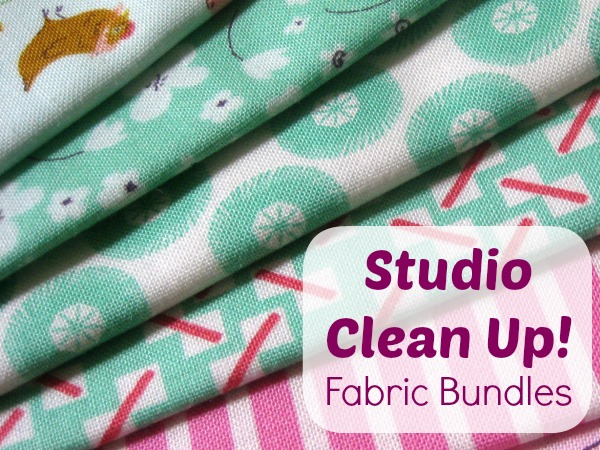 Fabric Scrap Bundle Destash Sale. The Sewing Loft