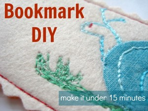 Back to School Easy Bookmark DIY