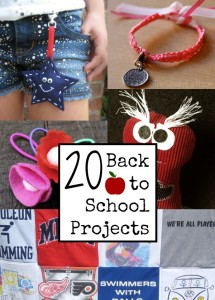 20 Easy Back to School Projects