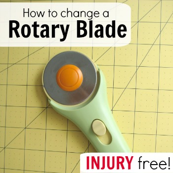 Replace your rotary blade in just a few easy steps. The Sewing Loft