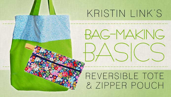 Bag Making Basics Free Craftsy Class