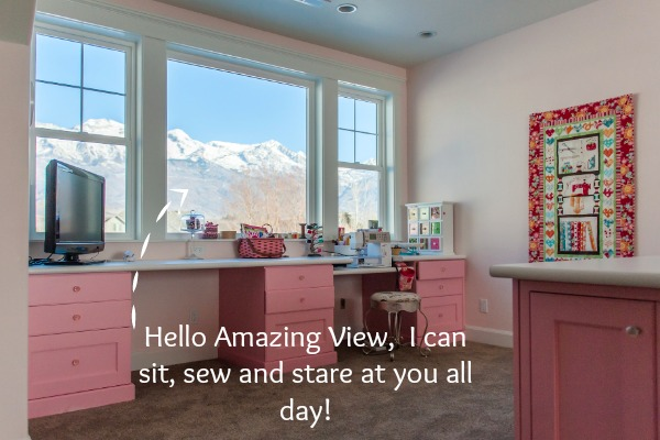 It's National Sewing Month and not only are we are chatting with Cindy from Riley Blake Designs but we are getting an insider view of her sewing room.