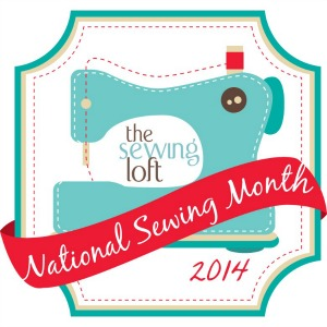 It's time to celebrate National Sewing Month on The Sewing Loft