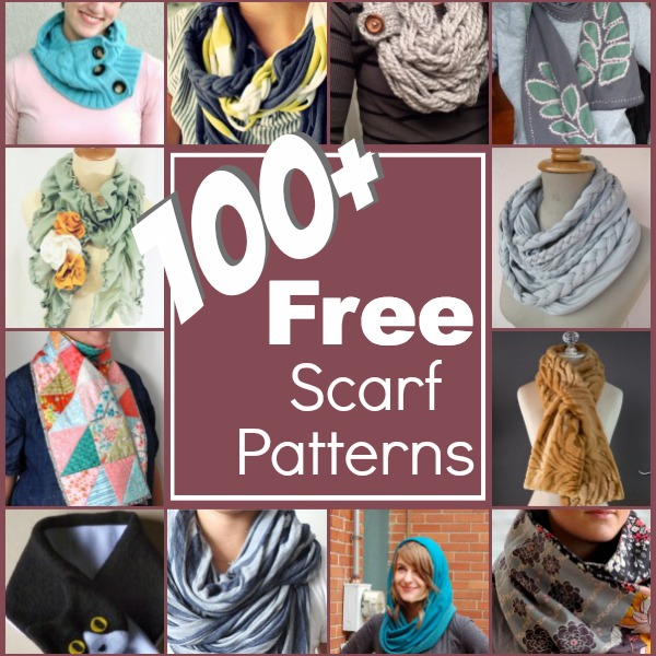100+ Free Scarf Patterns - The Sewing Loft