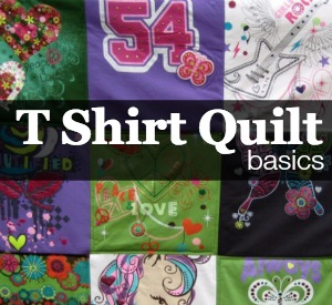 How to Make a TShirt Quilt: Finishing