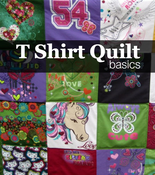 How To Make A Tshirt Quilt Finishing The Sewing Loft