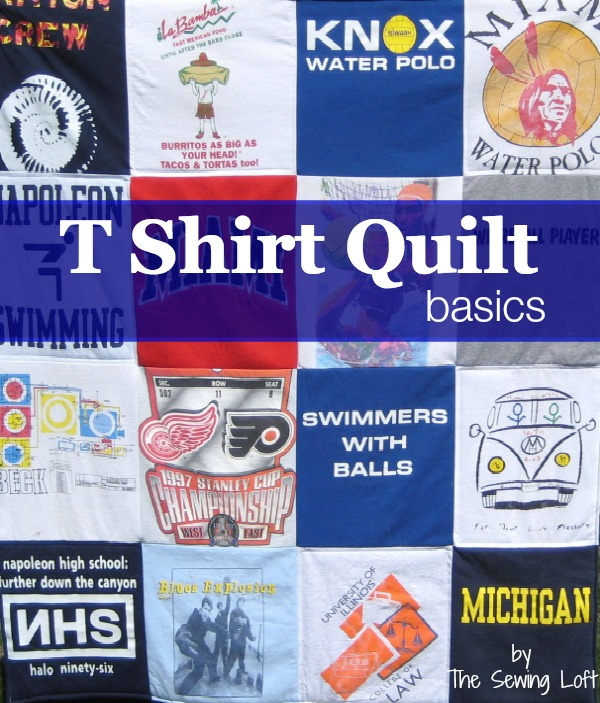 How To Make A Tee Shirt Quilt Materials Amp Cutting The
