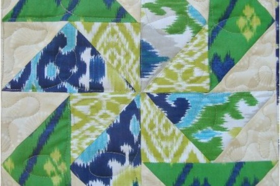 Learn how to make flying geese with ease. The Sewing Loft