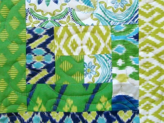 Log Cabin Block - Quick like a Fox Quilt a Long on The Sewing Loft