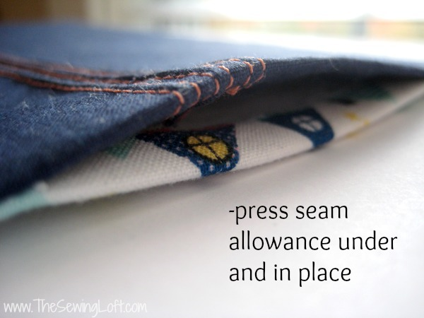 Easy No Sew Seam Closure | The Sewing Loft