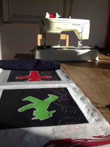 Wrapping up the T-Shirt Quilt