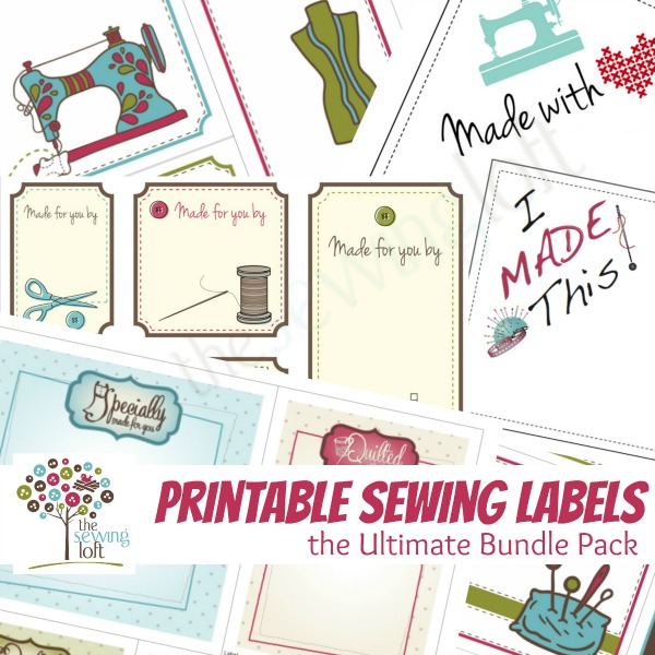 Printable Labels are the perfect way to add a special message your your projects. They are easy to use and can be printed on your home computer.