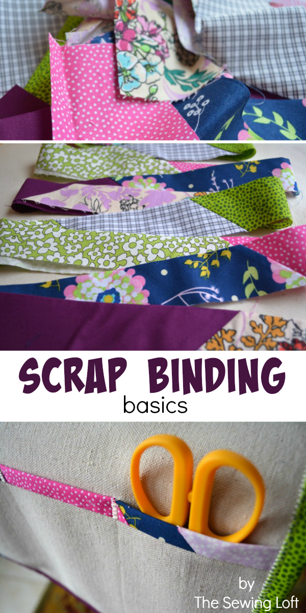 How to Create Scrap Binding - The Sewing Loft : making binding for a quilt - Adamdwight.com