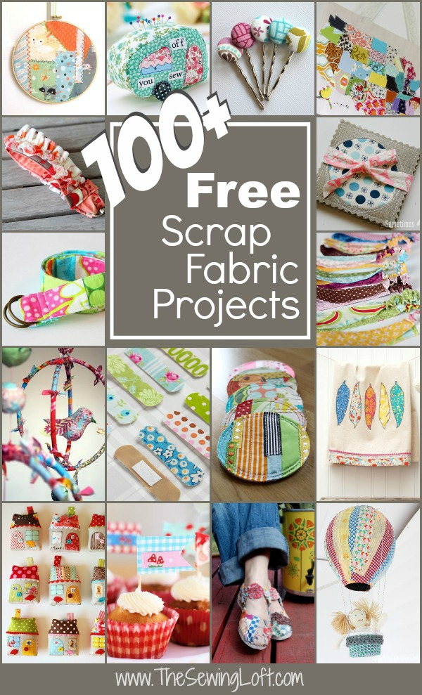 Captivating 100+ Scrap Fabric Projects Rounded Up In One Place. The Sewing Loft Design Inspirations