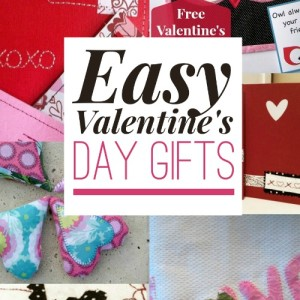 Easy Valentine's Day Projects