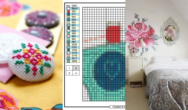 Add Cross Stitch To Your Sewing Projects The Sewing Loft