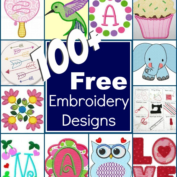 Free Machine Embroidery Baby Alphabet Designs