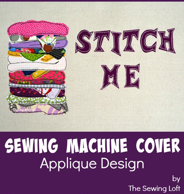 Stand up against the naked sewing machine! Join us next week and create this sewing machine cover. The Sewing Loft