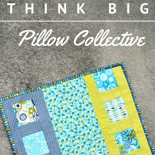 Think Think Big Quilt Blocks| Pillow Collective