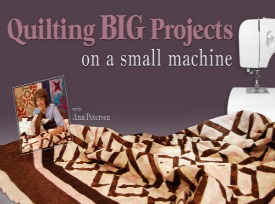 Big Quilts Small Machine