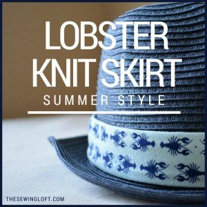Lobster Knit Skirts   Knit Love Tour