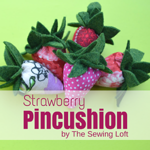 Strawberry Pincushion | Scrap Buster