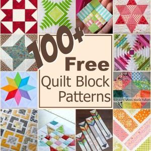100+ Free Quilt Blocks