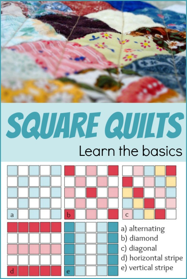 The square quilt is a standard shape commonly found in many quilts. Learn tips on how to perfect the technique and see layout examples. The Sewing Loft