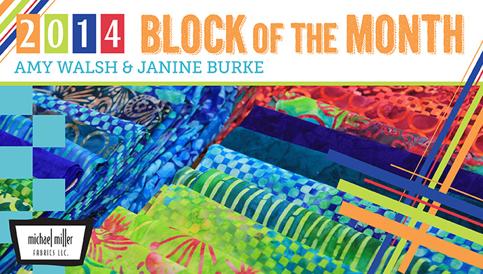 2014 Block of the Month Free Craftsy Class is one of many Free on line sewing classes at Craftsy
