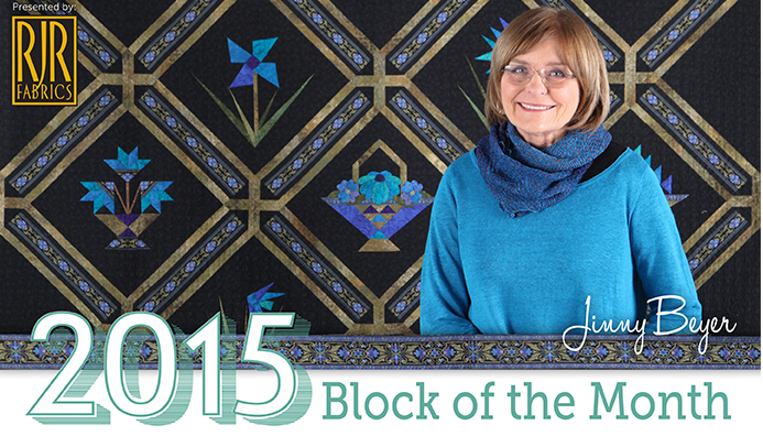 2015 Block of the Month Free Craftsy Class is one of many Free on line sewing classes at Craftsy