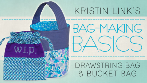 Free Bag Making Basics Class on Craftsy