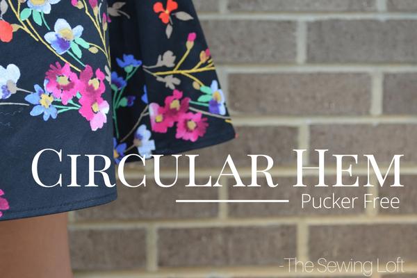 Circular Hem Skirt