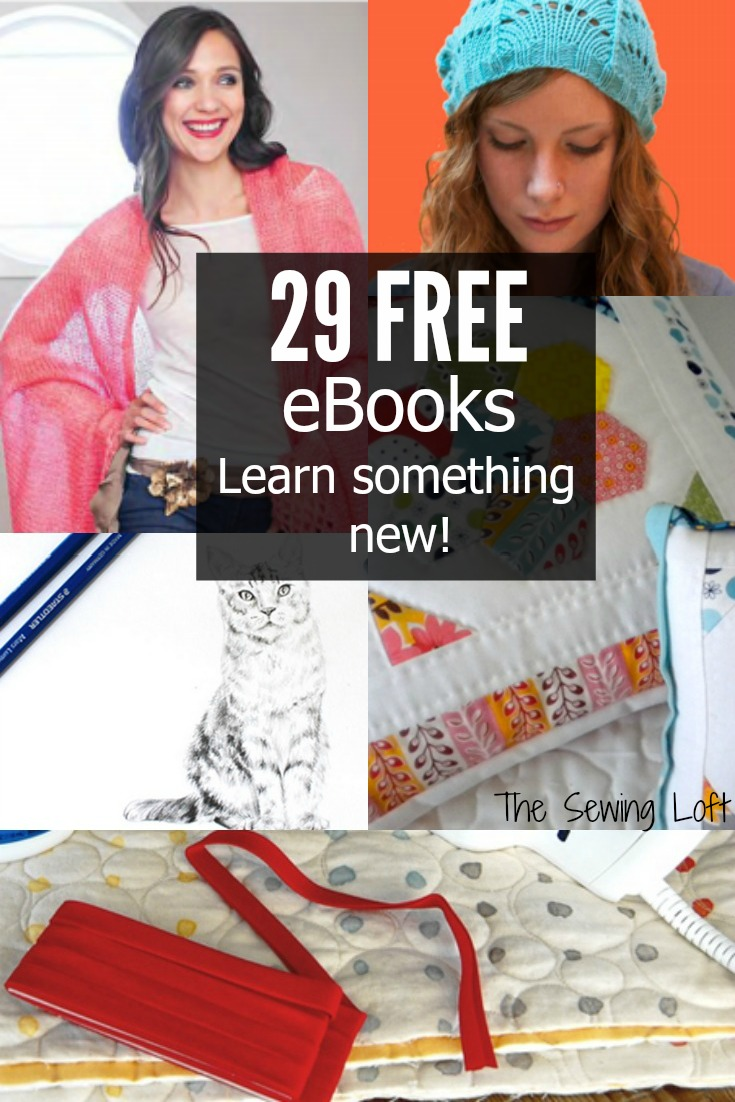 Learn something new with one of these 29 free ebooks from Craftsy.