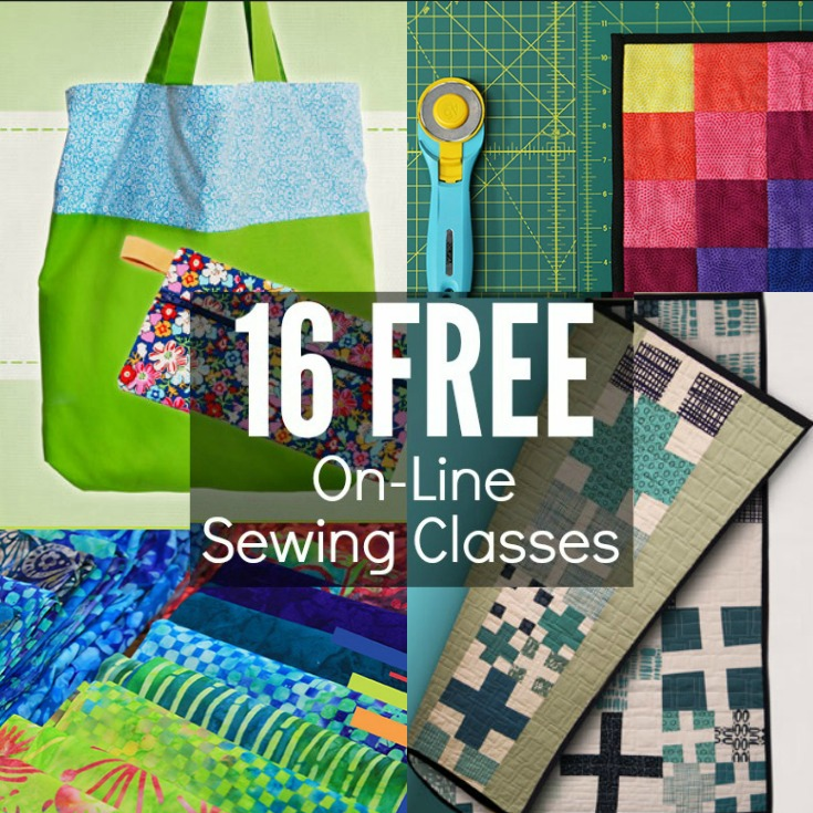 Free OnLine Sewing Classes - The Sewing Loft