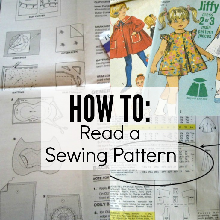How To Read A Sewing Pattern The Sewing Loft Beauteous Sewing Patterns Com