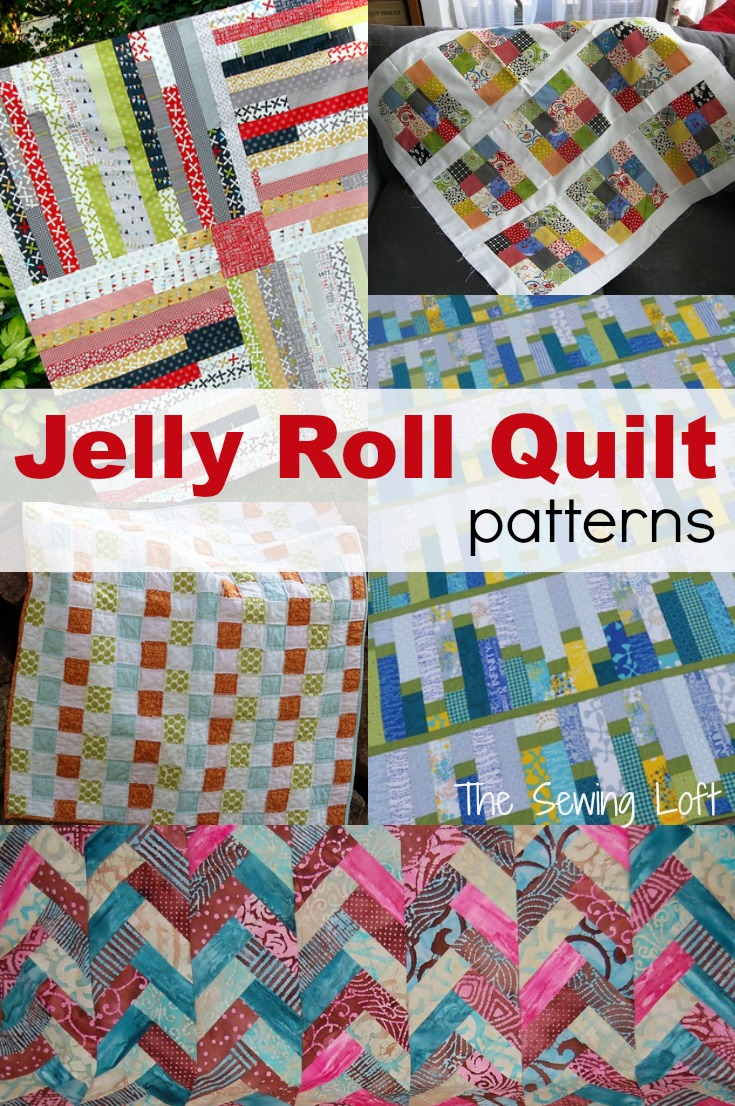 Free Quilt Patterns Using Jelly Roll Strips : Jelly Roll Quilt Ideas - The Sewing Loft