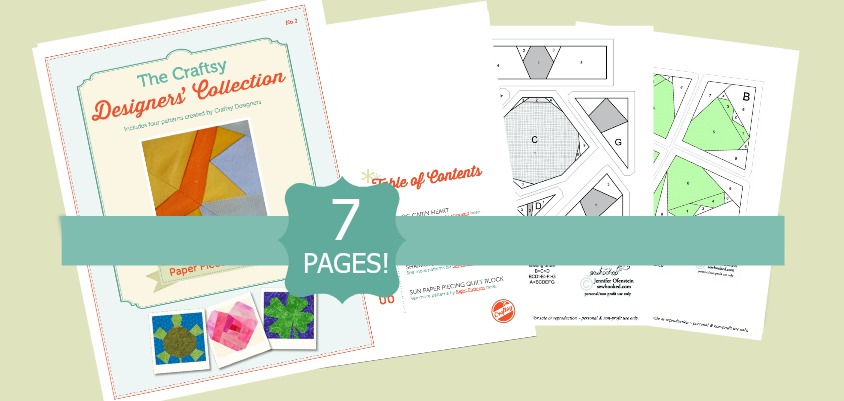 Paper Piecing Patterns. Check out this list of amazing free ebooks.