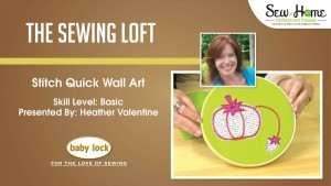 Pincushion Wall Art Video Class