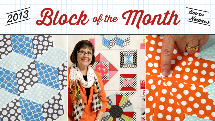 2013 Block of the Month Free Craftsy Class is one of many Free on line sewing classes at Craftsy