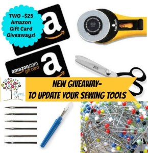 Update your Sewing Tools – New Giveaway!