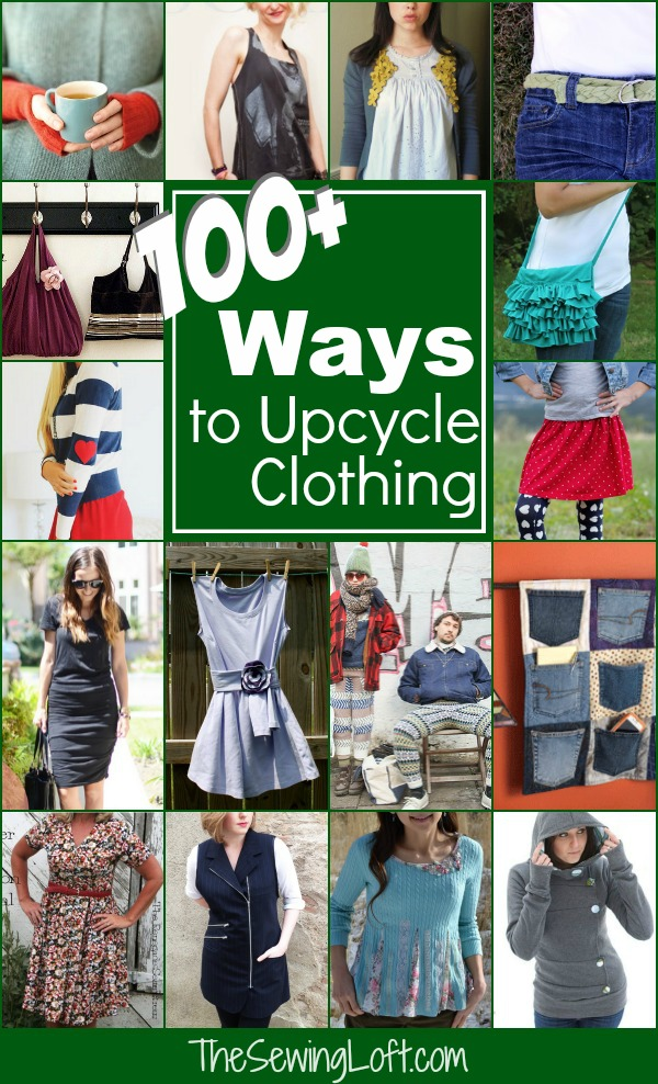 a433c9da30f Check out over 100 ways to upcycle clothing. Amazing ideas that are easy to  create