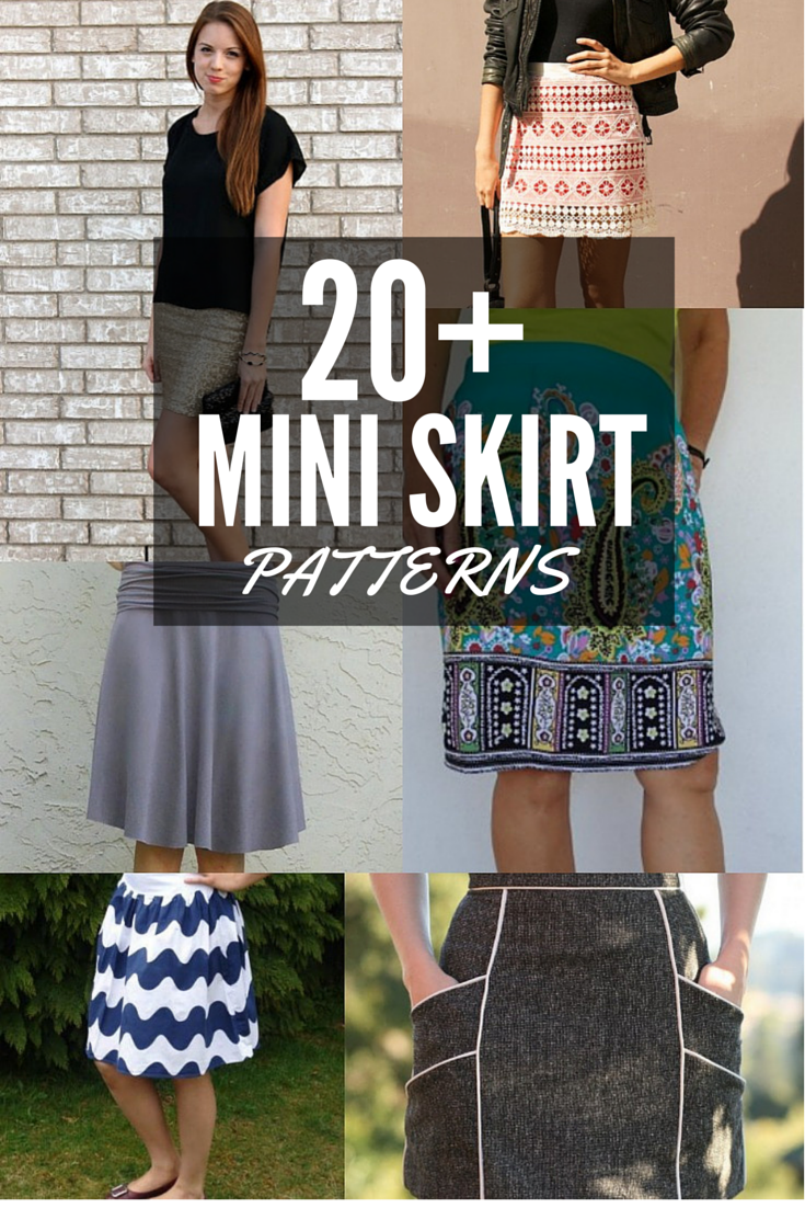 20  Free Mini Skirt Patterns - The Sewing Loft