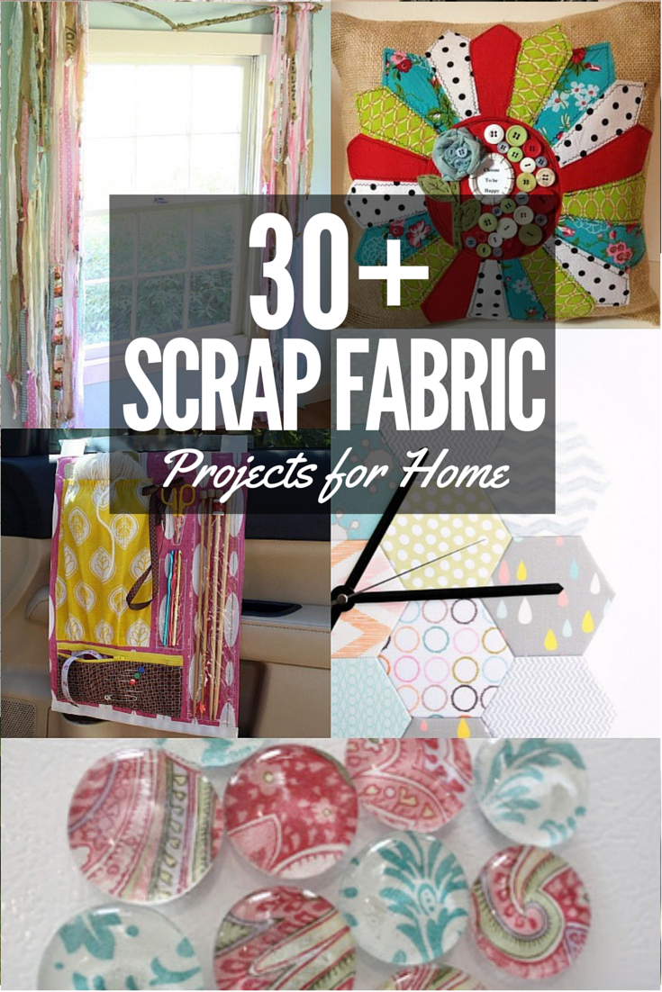 30+ Scrap Fabric Ideas for your home. The Sewing Loft